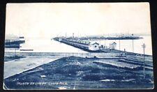 Costa Rica Postcard Used 1909 / Muelle de Limon / Port / Shipyard
