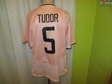 "JUVENTUS Torino NIKE Trasferta Maglia 2003/04 ""Fastweb"" + N. 5 TUDOR TAGLIA XL"