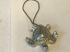 pewter Mobile Phone charm Turtle Tg176 Fine English