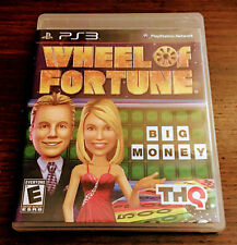 Wheel of Fortune PS3 PlayStation 3 Complete w/ Manual Tested Clean Rare Family