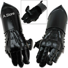 Armor Functional Gloves Black Antique Armour Gauntlet Gloves Medieval Steel