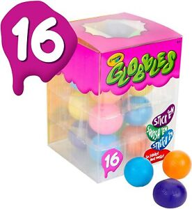 Crayola Globbles 16 Count Squish Fidget Toys