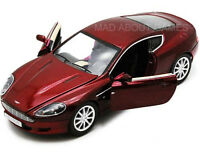 ASTON MARTIN DB9 COUPE 1:24 Scale Metal Diecast Toy Car Model Miniature Red