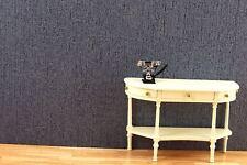 50x30 cm (17,93EUR/m²) Papier Tapetten für 1:12  Puppenhaus. Dunkelblau