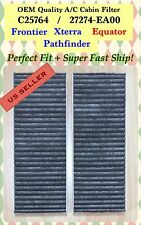 Frontier PathFinder Xterra Equator Premium CARBONIZED Cabin Air Filter C25764