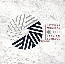 NEW ! Euro Divisionale LETTONIA 2015 Ufficiale Zecca 8 monete Fdc + 2 euro comm.