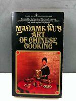 Madame Wu's Art Of Chinese Cooking 1974 Bantam