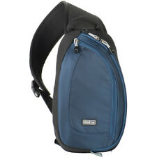 NEW THINK TANK PHOTO TURNSTYLE 5V2.0 SLING CAMERA BAG BLUE INDIGO FOR DSLR LENS