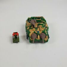 Vintage 1989 Kenner Mega Force Tar-Traks Armored Tank Diecast Vehicle Complete