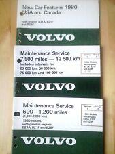 volvo   240,260,repair manuals 14 pieces  total