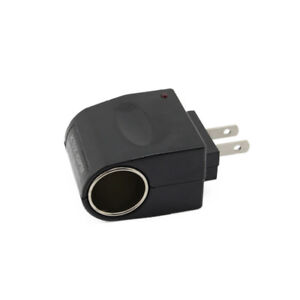 New Wall AC Adapter To DC Car Charger Cigarette Lighter Socket Converter ch43