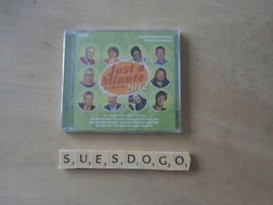 JUST A MINUTE THE BEST OF 2012  BBC RADIO COMEDY PANEL GAME ON 2 CDS NEW/SEALED