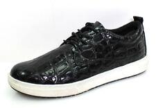 Marco Tozzi 23708 Gr.42 Damen Schuhe Turnschuhe Sneaker Low-Top Lack Schwarz NEU