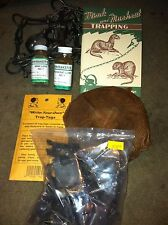 Mink & Muskrat Starter Kit (Body Grip) Trap traps trapping