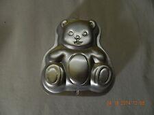 TEDDY BEAR Wilton Singles Cake Pan w/Insert Small Personal EUC