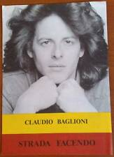 SPARTITO TESTO CLAUDIO BAGLIONI - STRADA FACENDO CHITARRA FISARMONICA