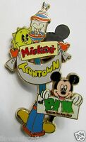 Disney WDW Mickey's Toontown Event Logo Mickey Mouse Pin