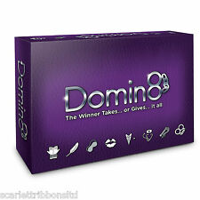 DOMIN8 ADULTE Jeu NOT DOMINATE or MONOGAMY Amusant & Sexy Anti Genre LOVE jeu