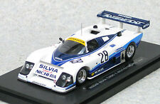 Ebbro 44506 Nissan Silvia Turbo C Nichira WEC JAPAN 1985 No.28 ( White / Blue )