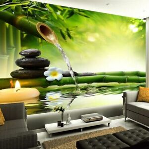 Background Wallpapers Living Room Marble Walls Covering Asian Style 3D Wallpaper