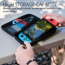 Smart Portable Carrying Hard Shell Pouch for Nintendo Switch Console&Accessories