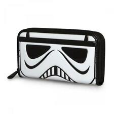 Star Wars Stormtrooper Patent Face Wallet NEW Women's Carriers