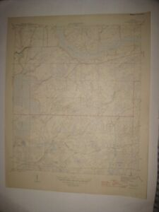 ANTIQUE 1945 WOODS LIBERTY COUNTY FLORIDA TOPOGRAPHIC MAP TOPOGRAPHICAL RARE FIN