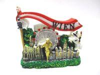 Viena Prater Catedral de st Stephan 3D Poly Imán Nevera Recuerdo Austria