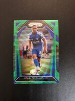 2020-21 Panini Prizm EPL Youri Tielemans Blue Green Prizm Leicester City
