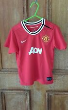 NEW BOYS NIKE MANCHESTER UNITED SOCCER TEE SIZE 2-3