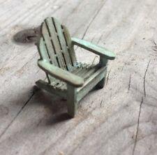 Dollhouse Miniature Quarter Scale Adirondack Chair KIT - 1:48