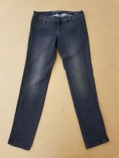 E613 Mujer GUESS skiiny Ultra Gris Oscuro Denim Jeans M 10 W29 L29
