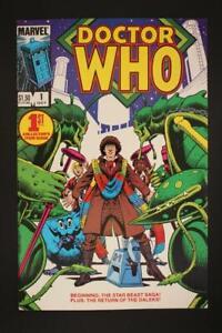 Doctor Who #1 - NEAR MINT 9.8 NM - Marvel Comics