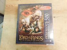 Lord Of The Rings Return Of The King Prefalock 500pc Poster Puzzle Sealed