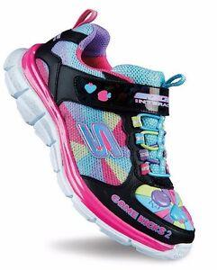 Skechers Gamekicks 2 Juicy Smash Sneakers NIB Girls Size 12 SALE