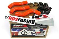 HPS Orange Reinforced Silicone Radiator Hose Kit Coolant for KTM 07-10 250SXF