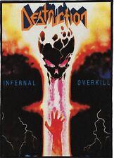DESTRUCTIONBACKPATCH / SPEED-THRASH-BLACK-DEATH METAL