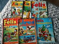"""Felix und """"Das ist Klasse"""" 3.Wahl - 6 Hefte - alt"""