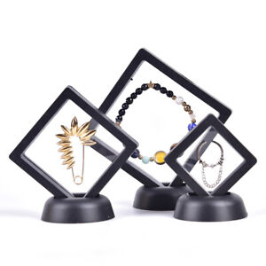 3D Floating Frame Shadow Box Picture Frame Jewelry Display Protection Show C AH