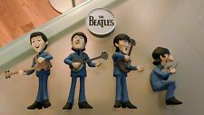 The Beatles Collectible 8 Figurines 2004 McFarlane Cartoon Toys Toy
