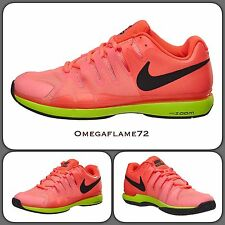 Nike Zoom Vapor 9.5 Tour QS 631458-600 UK 8.5 EU 43 Federer Tennis Shoe