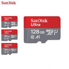 MICRO SD 32GB 64GB 128 GB SANDISK MICROSD CLASSE 10 MEMORY CARD SCHEDA MEMORIA