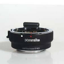 Commlite EF-NEX Lens Mount Adapter for Canon EF EF-S Lens to Sony A7 A7r NEX E