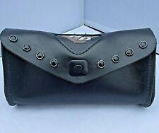 GENUINE HARLEY Road King Dyna Black Leather Studded  WINDSHIELD TOOL BAG