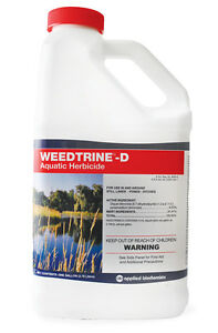 Weedtrine D Aquatic Herbicide- 1 Gallon-pond weeds-lake-water-fast algae control