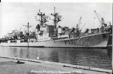 WW2 FRENCH MILITARY FRIGATE LE SAVOYARD POSTCARD