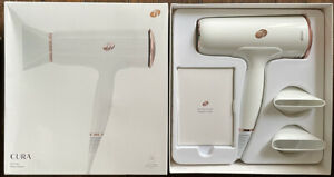 T3 Cura Professional Digital Ionic Hair Dryer in White & Rose Gold 76820