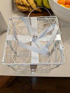 Wedding Card Box w/Lock