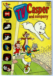 TV CASPER AND COMPANY #31 in VG/FN condition  Harvey 1970 comic -SPOOKY & more