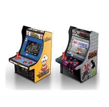 MY ARCADE BurgerTime + Bad Dudes Data East Retro Micro Arcade Machine Video Game